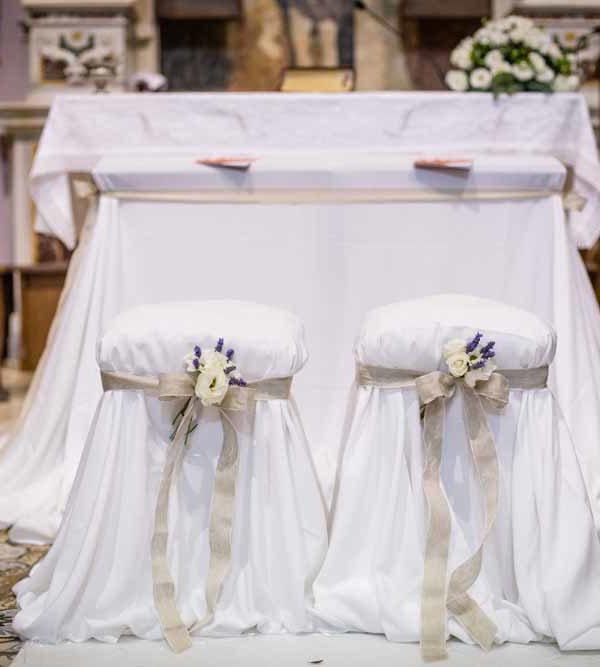 Matrimonio chic Domenico e Luciana