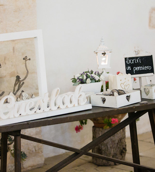Matrimonio in masseria Emiliano e Valeria