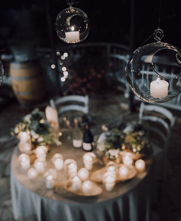 organizzare matrimonio-candele