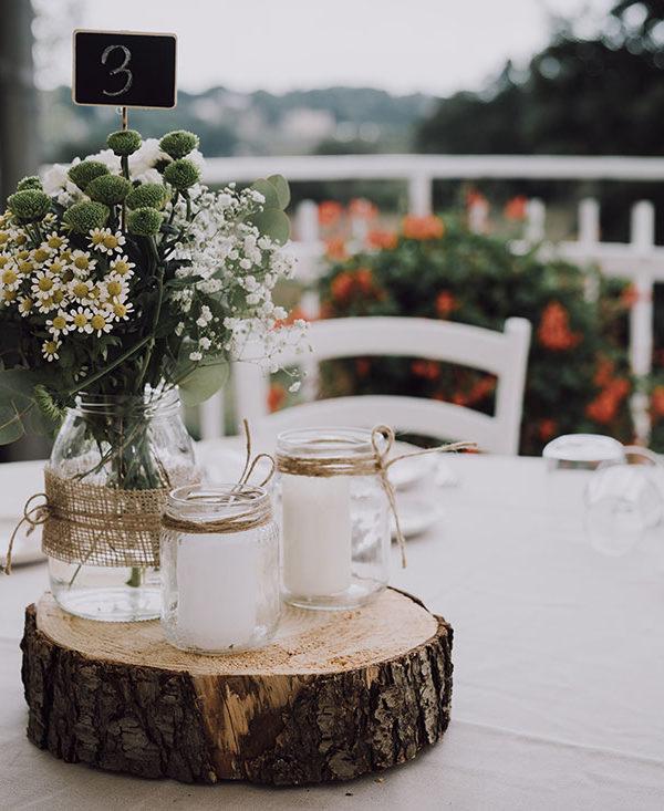 organizzare matrimonio-centrotavola