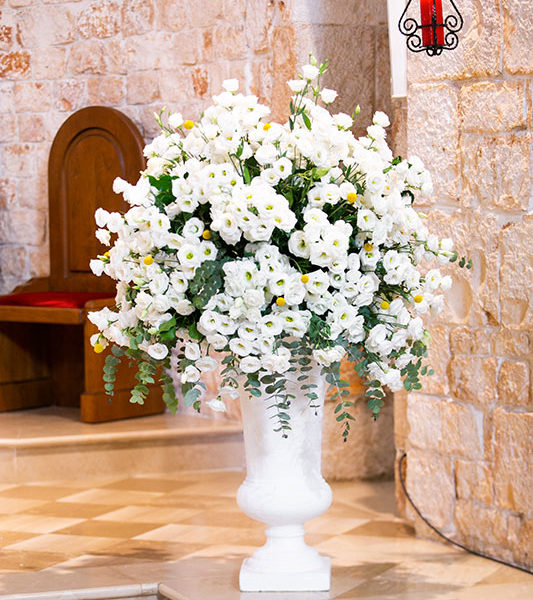 Wedding Apulia flowers allestimento in chiesa