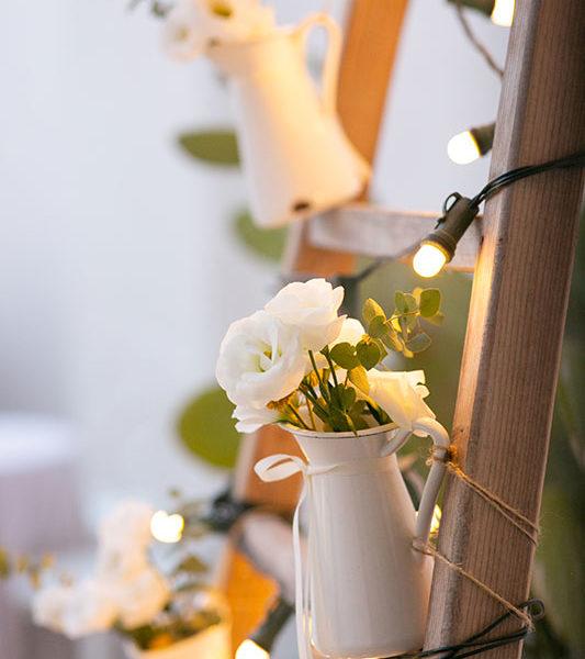 wedding apulia particolare dei fiori dell'addobbo
