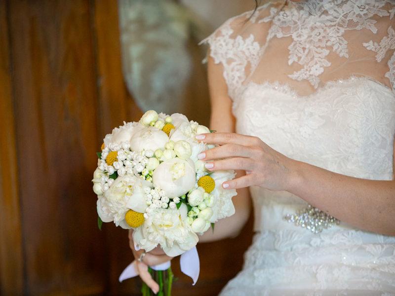 Wedding Apulia particolare del mazzo da sposa
