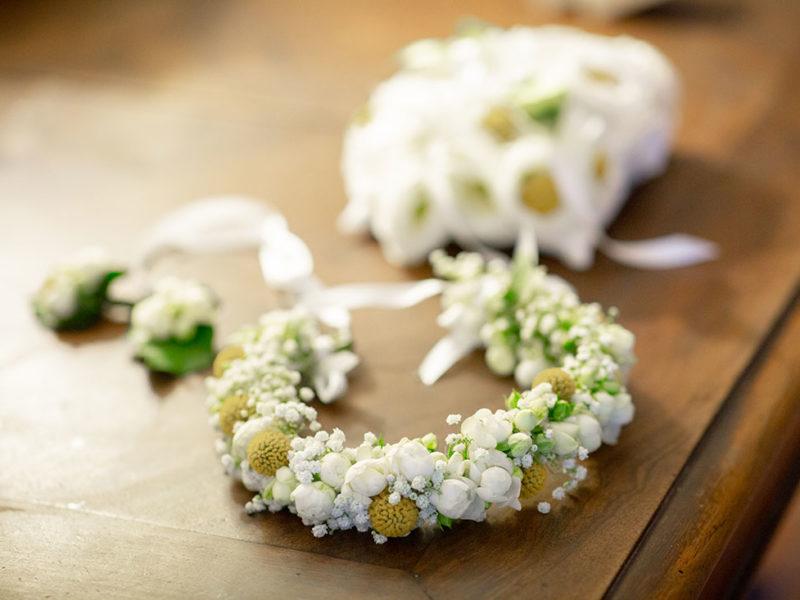 Wedding Apulia particolare della coroncina