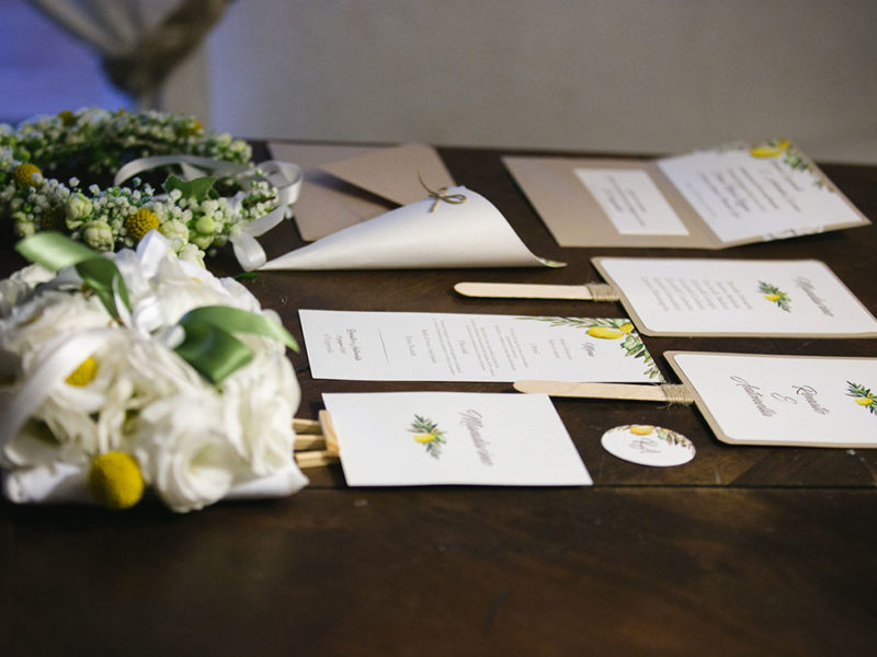 Wedding Apulia Stationery