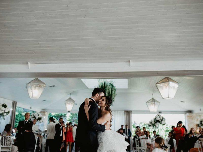 matrimonio chic ballo sposi