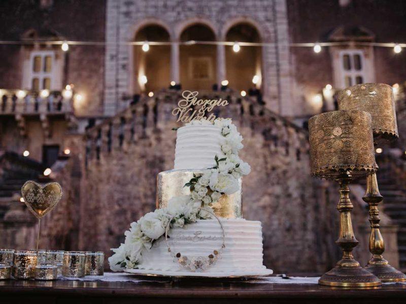 matrimonio chic torta