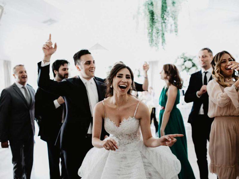 matrimonio glamour divertimento