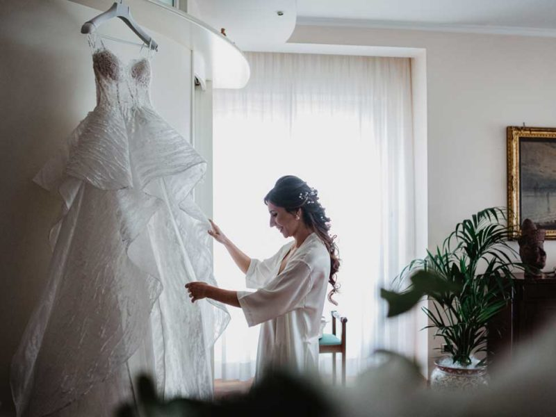 matrimonio glamour preparazione sposa