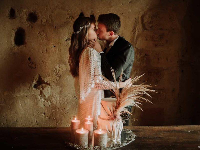 matrimonio boho chic inspiration matera bacio