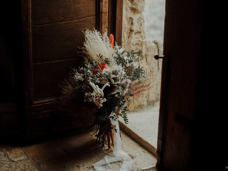 matrimonio boho chic inspiration matera bouquet