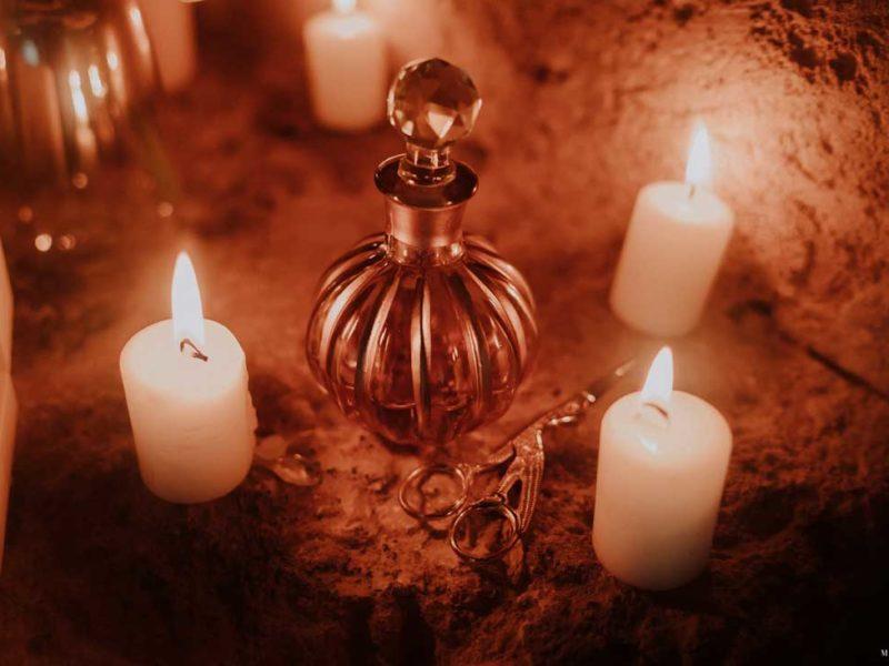 matrimonio boho chic inspiration matera candele e profumo