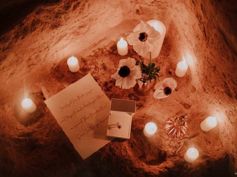 matrimonio boho chic inspiration matera lettera e anello
