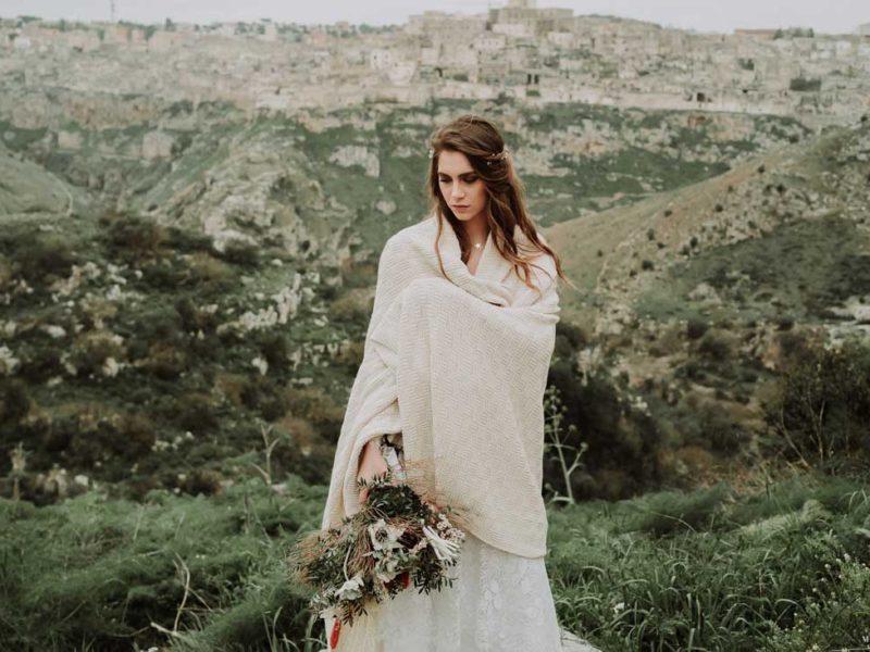 matrimonio boho chic inspiration matera sposa