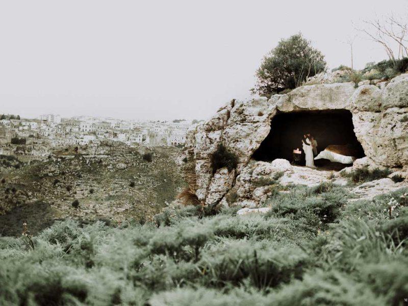 matrimonio boho chic inspiration matera sposi nella grotta e matera