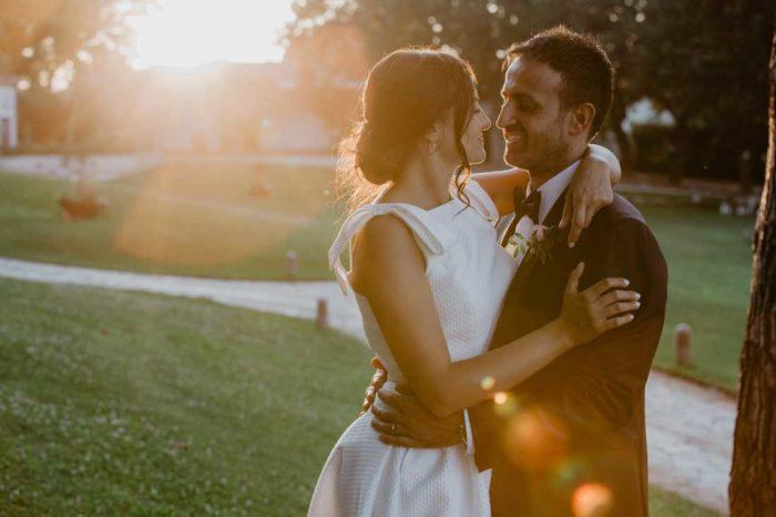 matrimonio glamour francesco e roberta sposi
