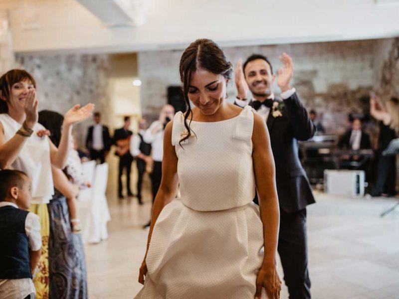 matrimonio glamour sposa