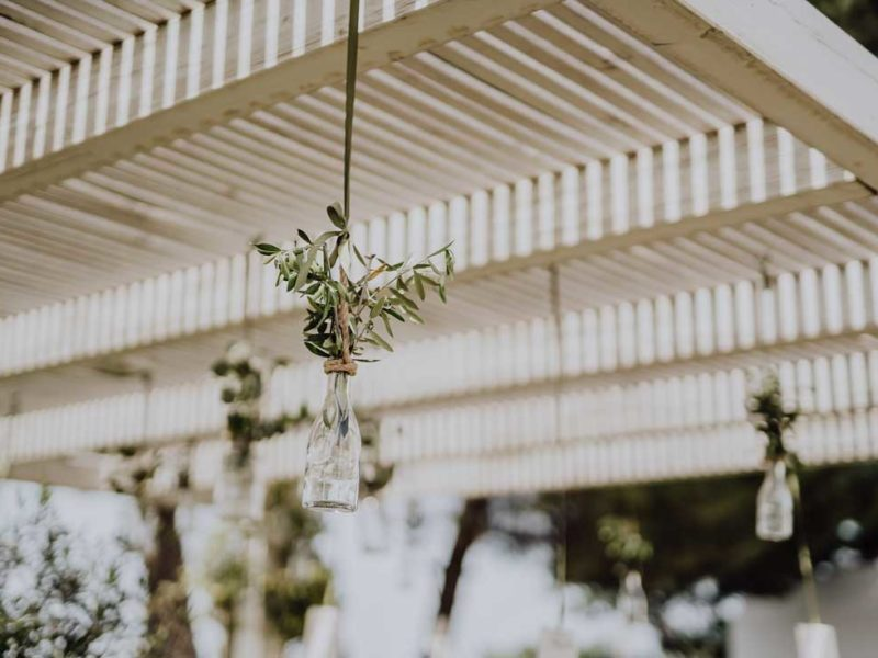 wedding in puglia addobbi