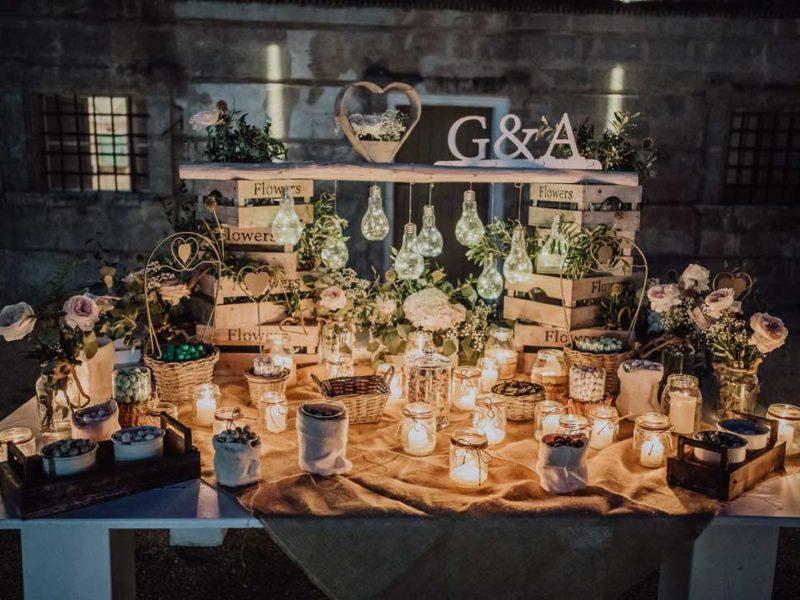 wedding in puglia tavolo allestito