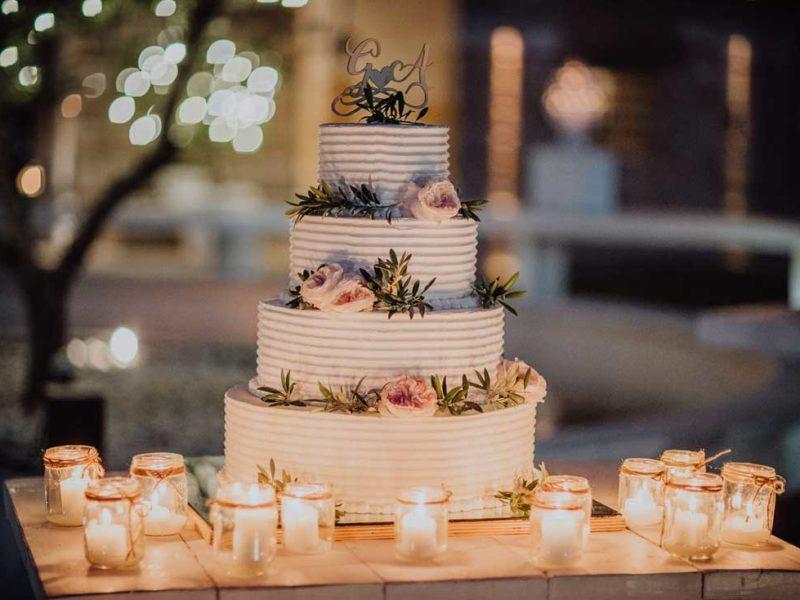 wedding in puglia torta