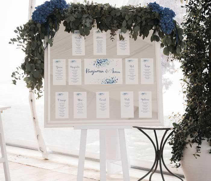 wedding in puglia tableau