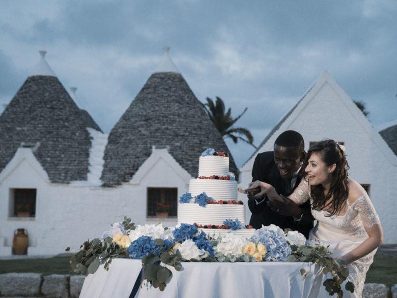 wedding in puglia torta nuziale