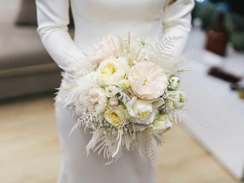 matrimonio glamour giulio e giulia bouquet bianco