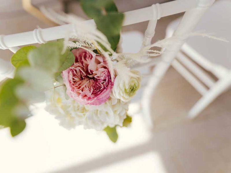matrimonio glamour giulio e giulia fiori