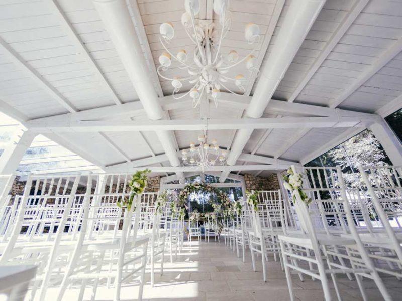 matrimonio glamour giulio e giulia location