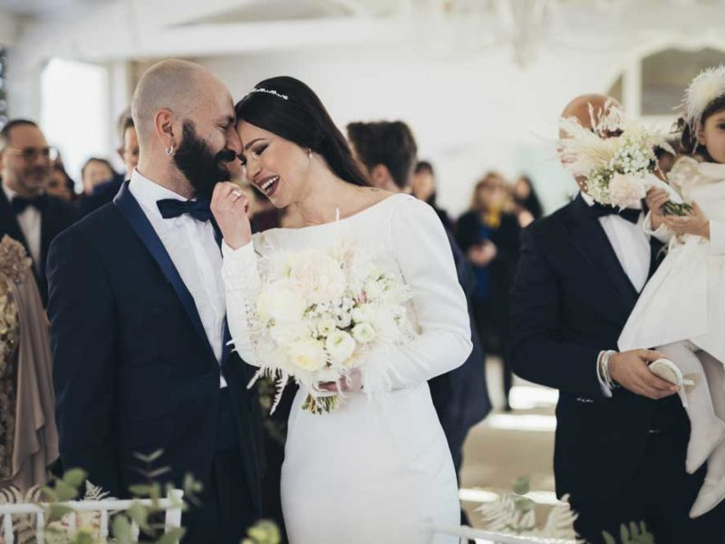 matrimonio glamour giulio e giulia romantici