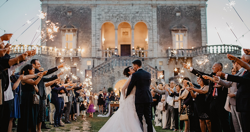 matrimonio in puglia castello