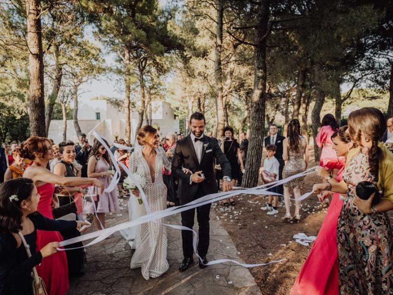 wedding in puglia angelo e celeste accoglienza degli invitati