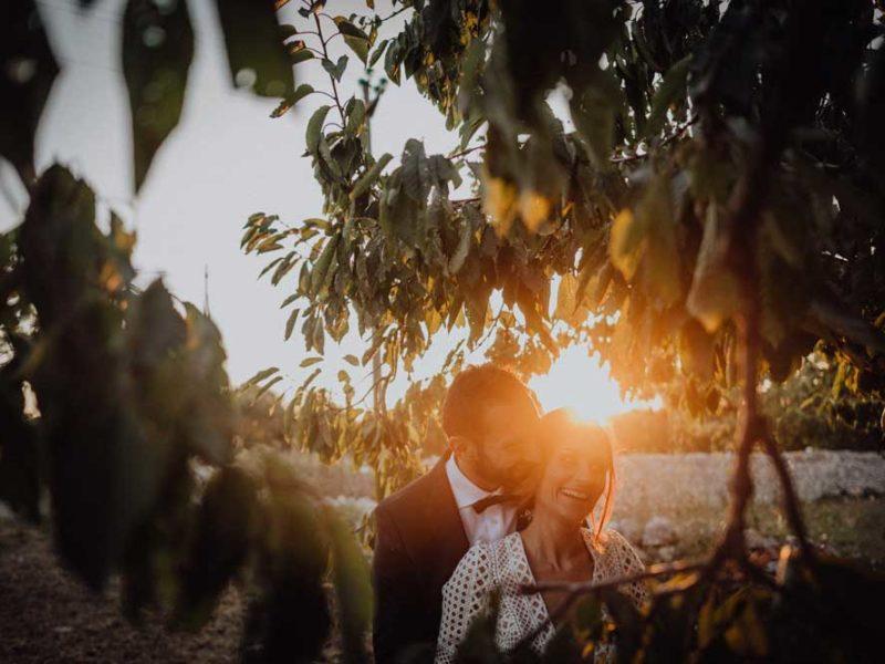 wedding in puglia angelo e celeste al tramonto