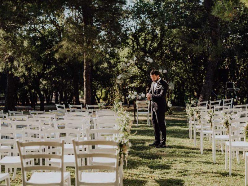 wedding in puglia angelo e celeste attesa dello sposo