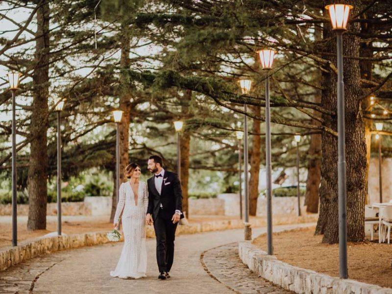 wedding in puglia angelo e celeste passeggiata