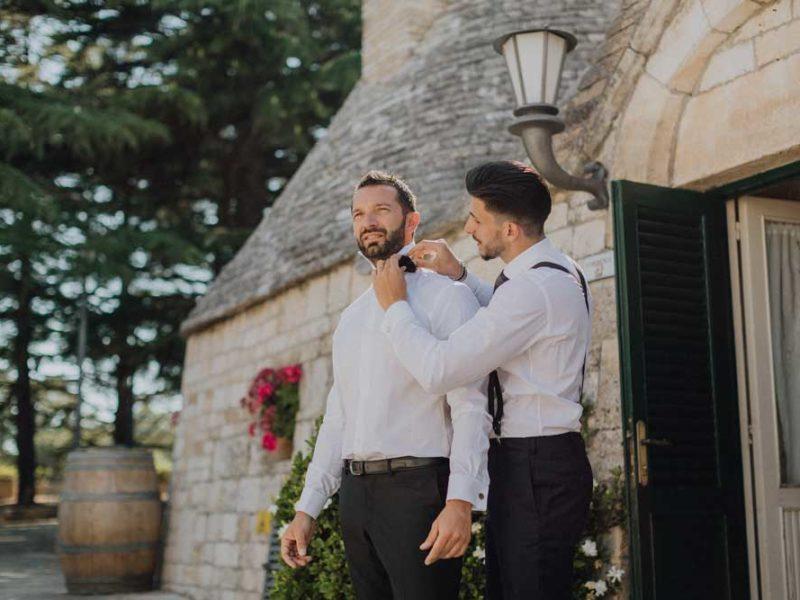 wedding in puglia angelo e celeste preparazione sposo