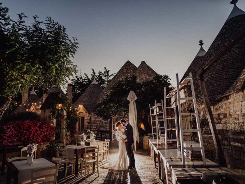 wedding in puglia angelo e celeste romantici con trulli
