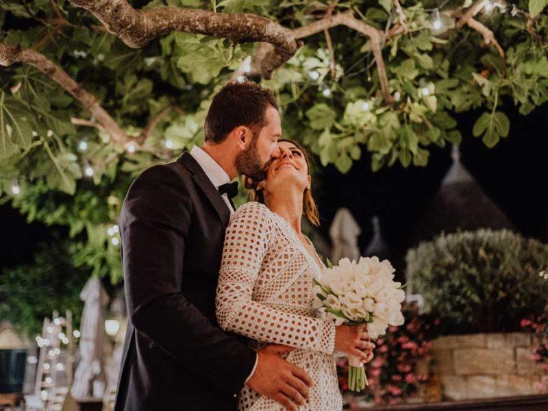 wedding in puglia angelo e celeste sera