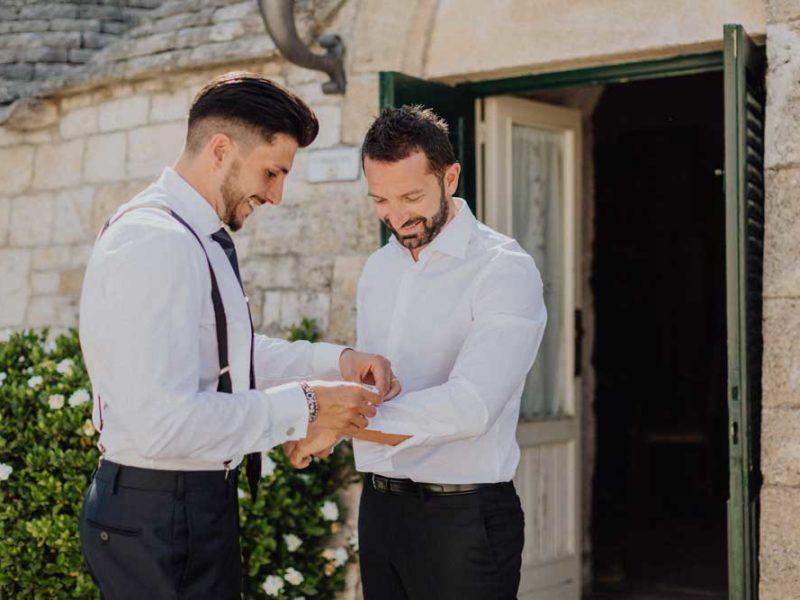 wedding in puglia angelo e celeste sposo preparazione