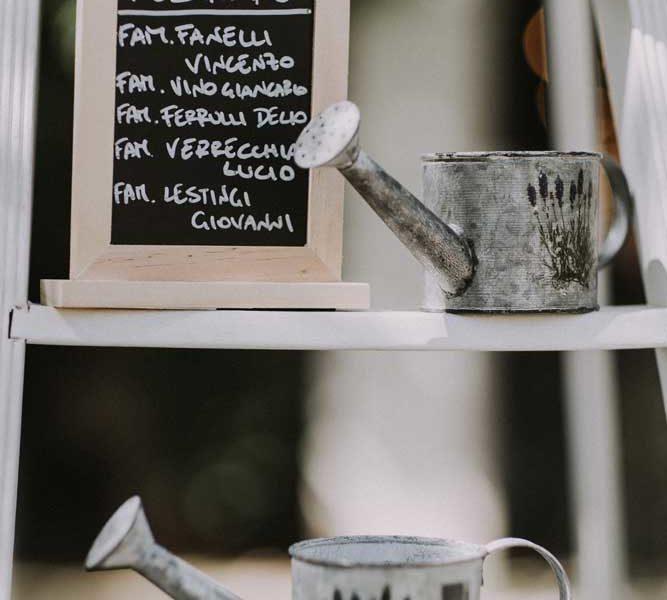 wedding in puglia disposizione tavoli particolare pasquale e renee