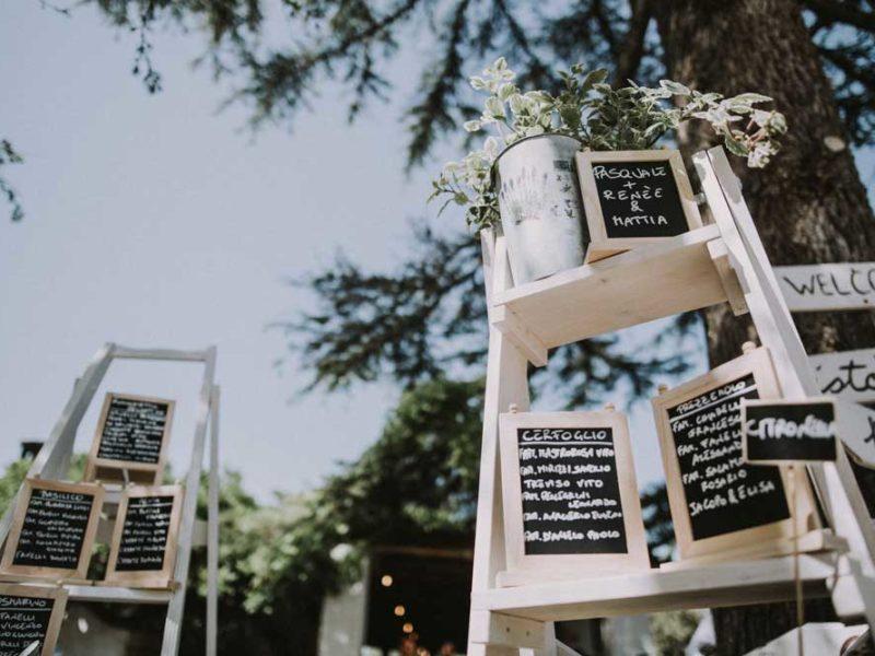 wedding in puglia disposizione tavoli pasquale e renee