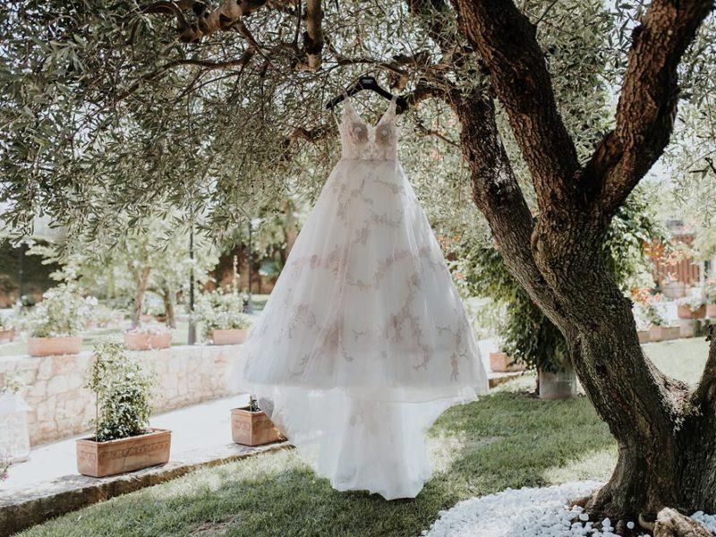 wedding in puglia marco e viviana abito della sposa
