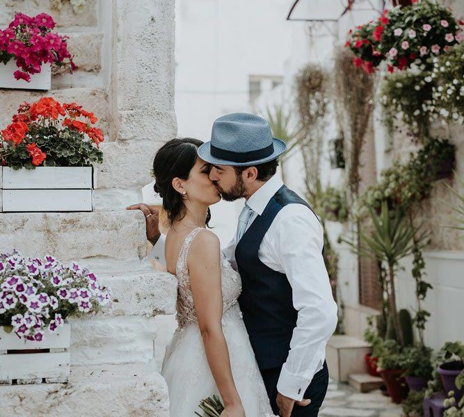 wedding in puglia marco e viviana bacio