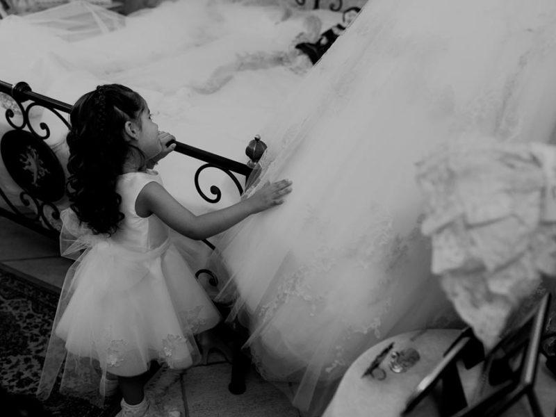 wedding in puglia marco e viviana bimba