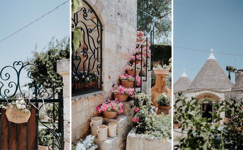 wedding in puglia marco e viviana casa dello sposo