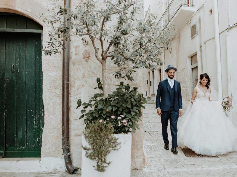 wedding in puglia marco e viviana passeggio