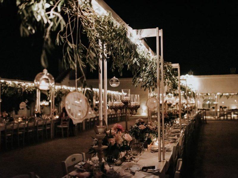 wedding in puglia marco e viviana tavolata particolare