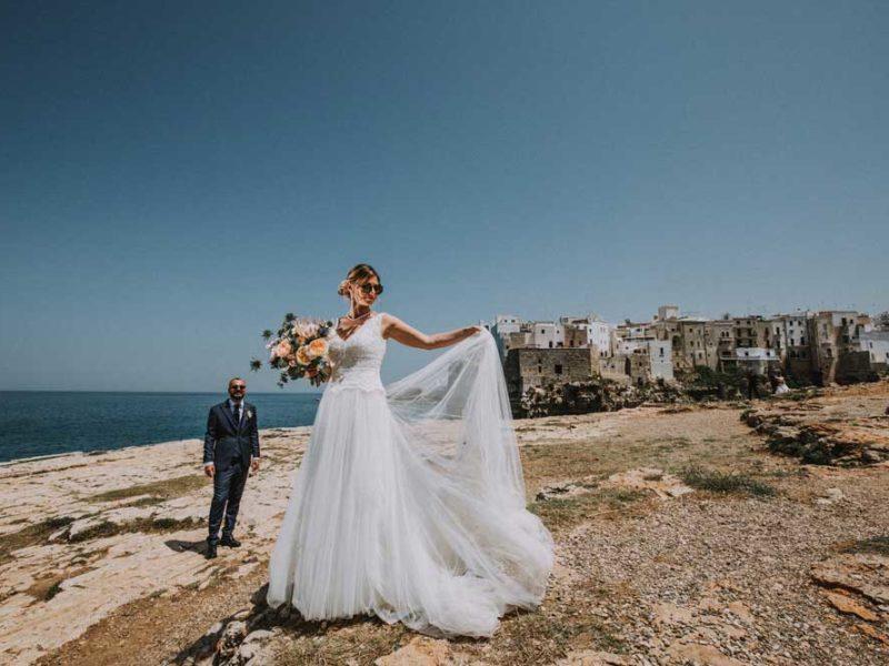 wedding in puglia pasquale e renee al mare