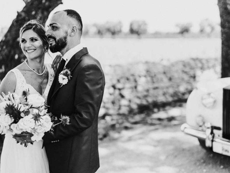 wedding in puglia pasquale e renee bianco e nero
