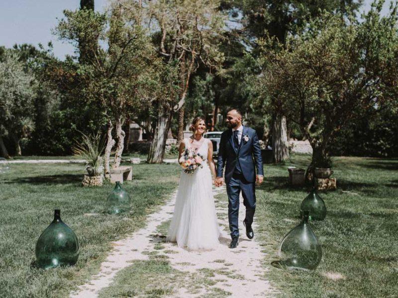 wedding in puglia pasquale e renee in masseria
